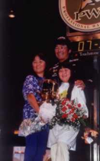 Ted Takasaki 1998 PWT Champion