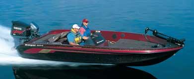 2003 620 Ranger boat