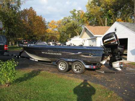 Used Warrior boat for sale