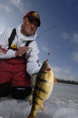Dropper spoon tactics score monster perch that feed on bottom dwelling invertebrates.
