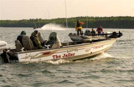 When teams take-off for the 2004 Evinrude Walleye Classic they will be