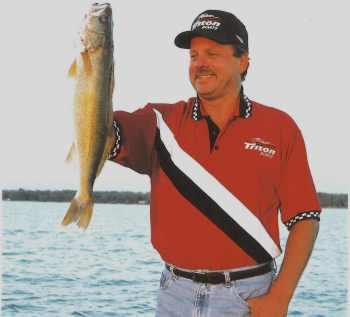 John Kolinski hoists another fine walleye