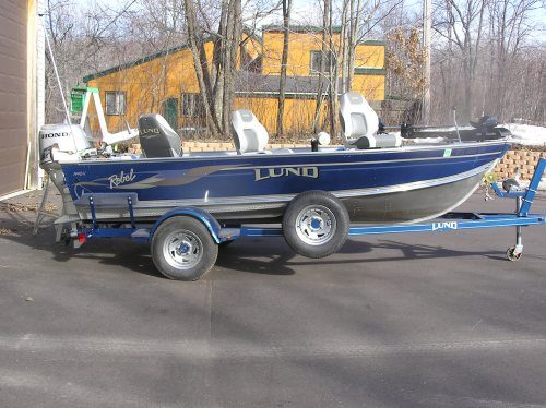 Used Lund boat for sale