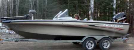 Used Tracker Boat for sale by Pete Mania