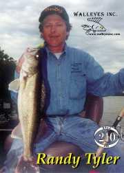 Pro Images Trading card for 2000 Fort Peck Winner Randy Tyler