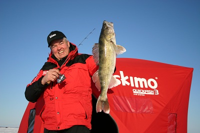 Ron Anlauf believes this is the year for hooking up with fish like this