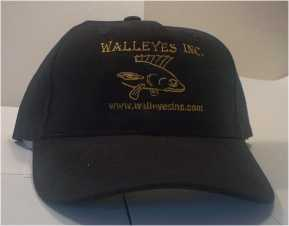 Great Walleye Fisherman wear black