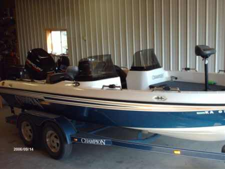 Used Champion boat for sale