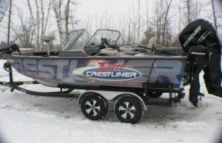 Crestliner boat for sale