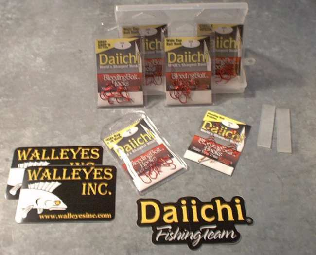 Mark Martin  & Randy Tylers Daiichi Bleeding Bait Hook Kit