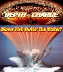 Depth charge Crankbaits sold Exclusively by Walleyes Inc. are hung with Daiichi Bleeding Bait Treble Hooks
