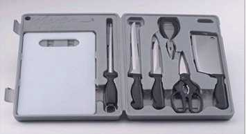 Maxam 8 Piece Fish Filet Knife and Cleaning Kit