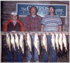 Fishing is great on Lake Oahe and Lake Sharpe