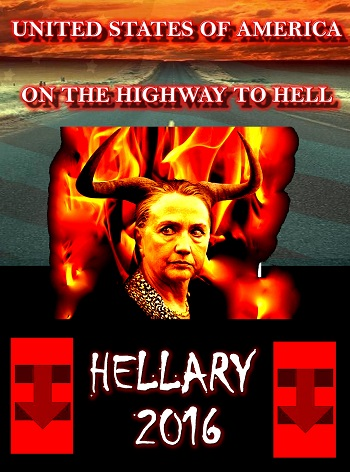 Hillary Clinton highway to hell