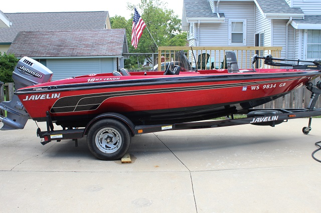 Javelin boat for sale