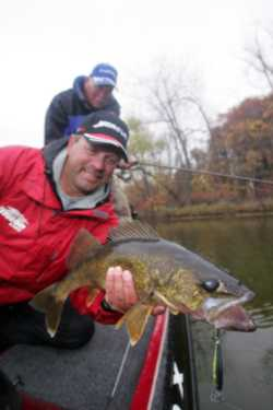 John Kolinski with a nice walleye