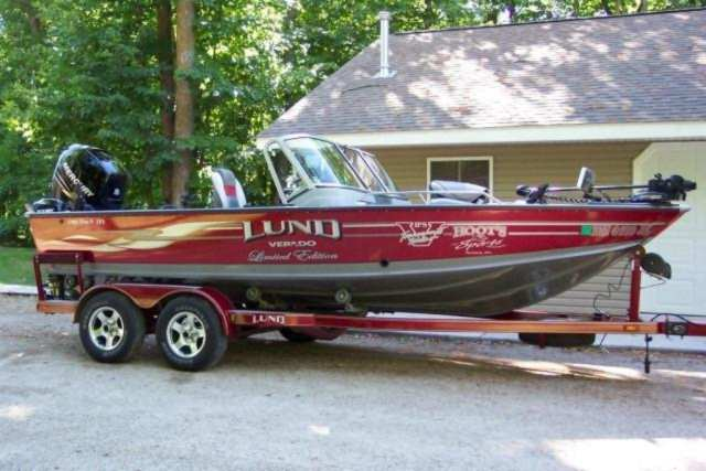 Used lund boat