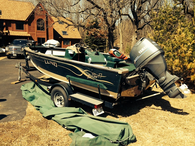 Lund boat for sale