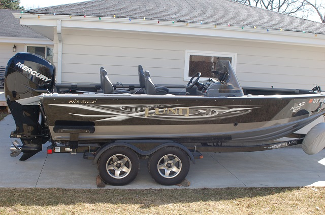 Timothy S Berg's Lund Boat for sale on Walleyes Inc www ...