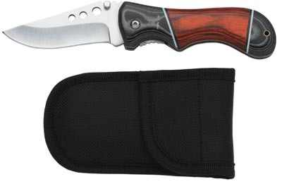 Maxam Lock Blade Wooden Handle