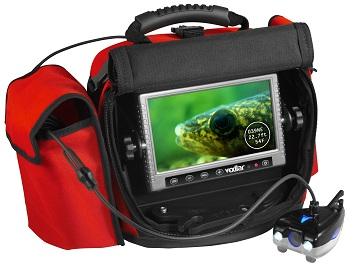 The Vexilar Scout under water camera can teach you valuable lessons in fish movements, bottom composition, weed varieties and how fish respond to your fishing techniques