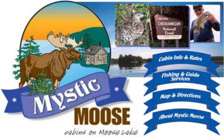 Mystic Moose Lodge on Moose Lake In Hayward Wisconsin