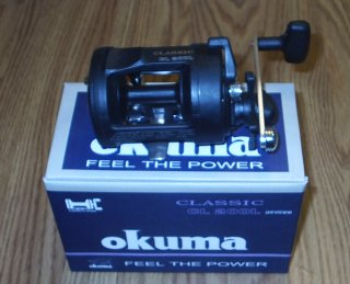 Okuma Classic 200 Level Wind Reel