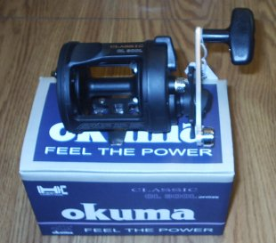Okuma Classic 300 Level Wind Reel