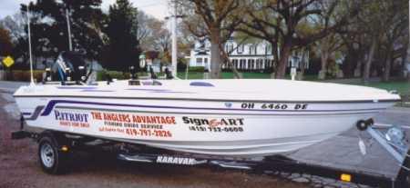 Ken Hockensmiths Patriot Boat is for sale