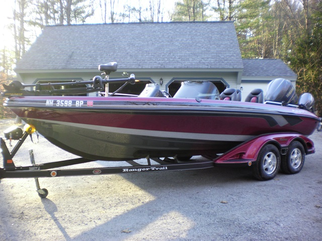 Ed hamiltons ranger boat for sale on walleyes inc for Walleye fishing boats for sale