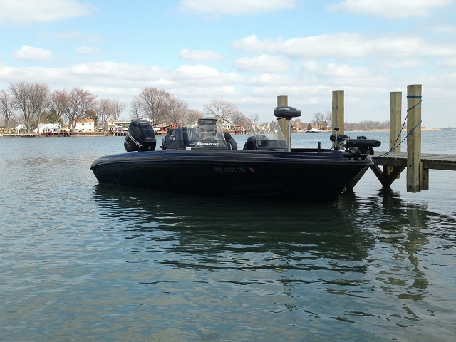 Chad sandys ranger boat for sale on walleyes inc for Walleye fishing boats for sale