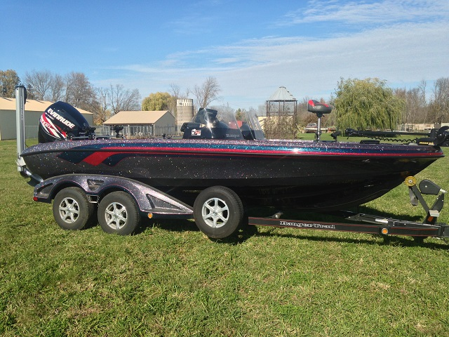 Mark courts 39 s ranger boat for sale on walleyes inc for Walleye fishing boats for sale