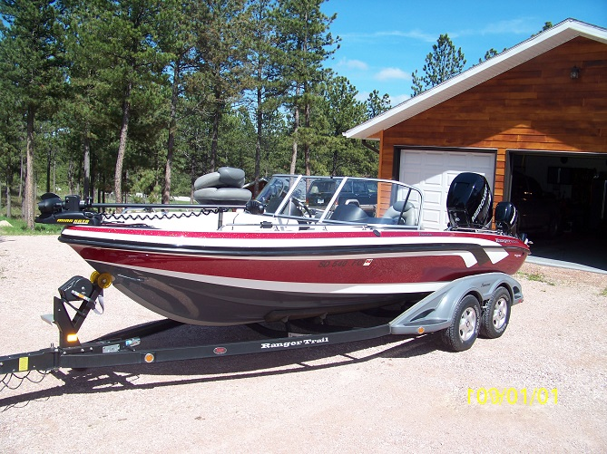 Bob etzkorn 39 s ranger boat for sale on walleyes inc for Walleye fishing boats for sale