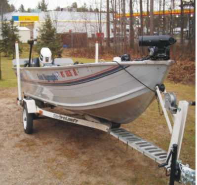 Used Boat for sample