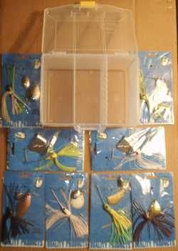 Walleyes Inc. 9 Piece Spinner Bait Kit