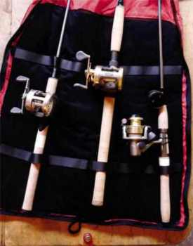 Rod Bag by Rod Control Open In Use