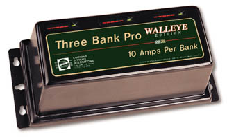 Dual Pro Walleye Edition Three Bank Charger