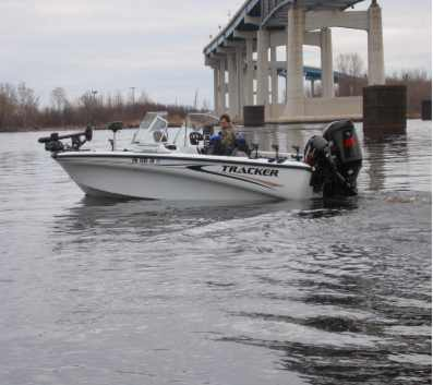 Used Tracker boat for sale
