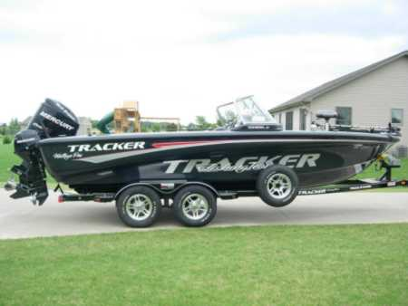 Mark Gwizdala S Tracker Boat For Sale On For Sale On Walleyes Inc