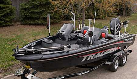 Pete Mania's Tracker boat for sale on Walleyes Inc. www ...
