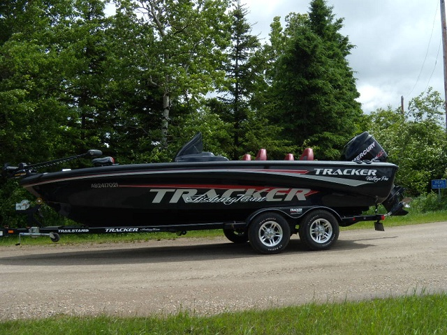 michael mcreei 39 s tracker boat for sale on walleyes inc