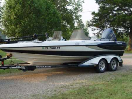 Perry 39 s triton boat for sale on for sale on walleyes inc for Walleye fishing boats for sale