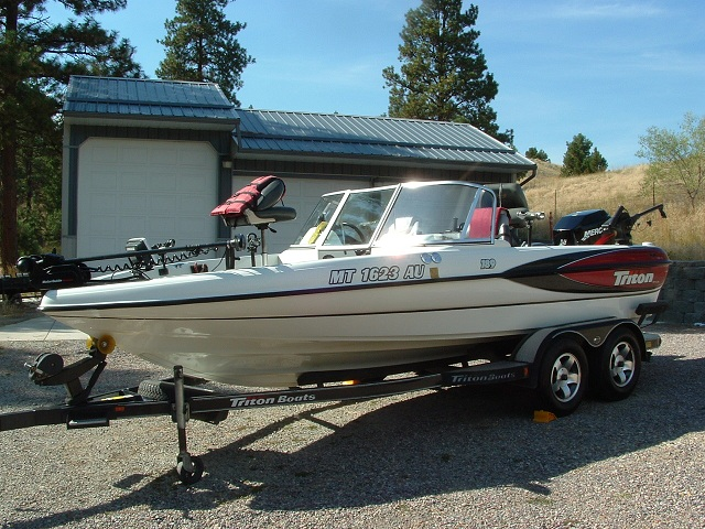 2001 triton 189 walleye boat for autos post for Walleye fishing boats for sale