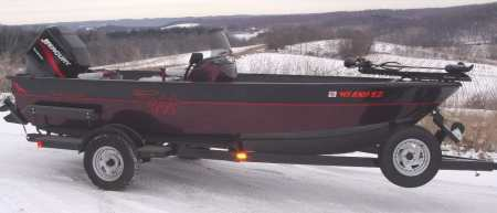 Tuffy boats for sale from walleyes inc for Walleye fishing boats for sale