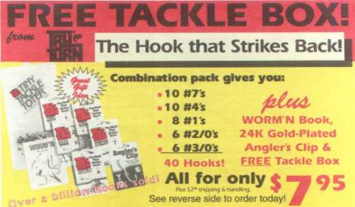 Tru Turn special hook offer