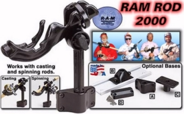 R-A-M Rod 2000 The Fishing Rod holder of the New Millenium