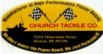 Church Tackle free drawing  for planer boards every month