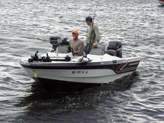 Rick nascaks tracker boat for sale from walleyes inc for Walleye fishing boats for sale