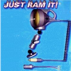 New for 2001 The RAM rubber spotlight